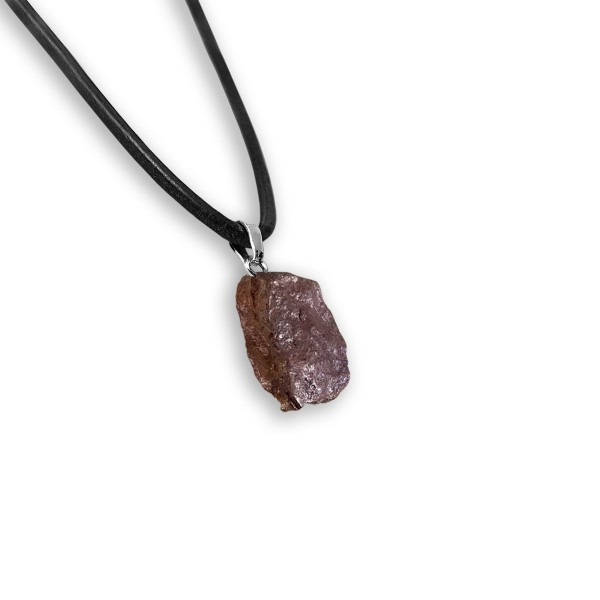 Meteorite Pendant natural finish