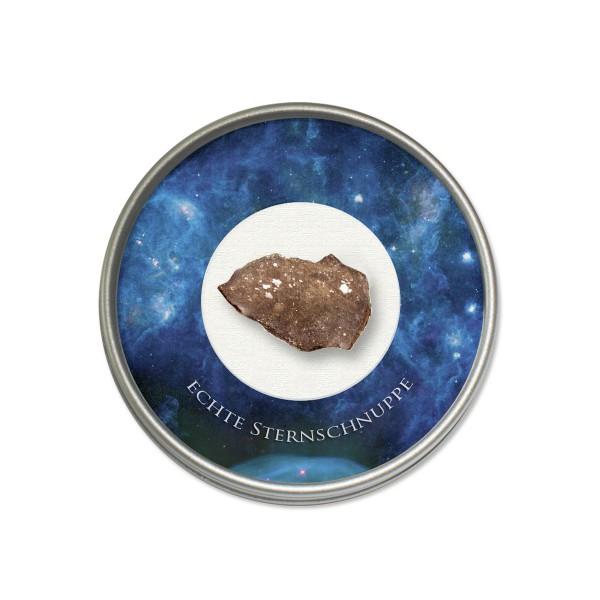 Steinmeteorit NWA Schnittstück, Marokko