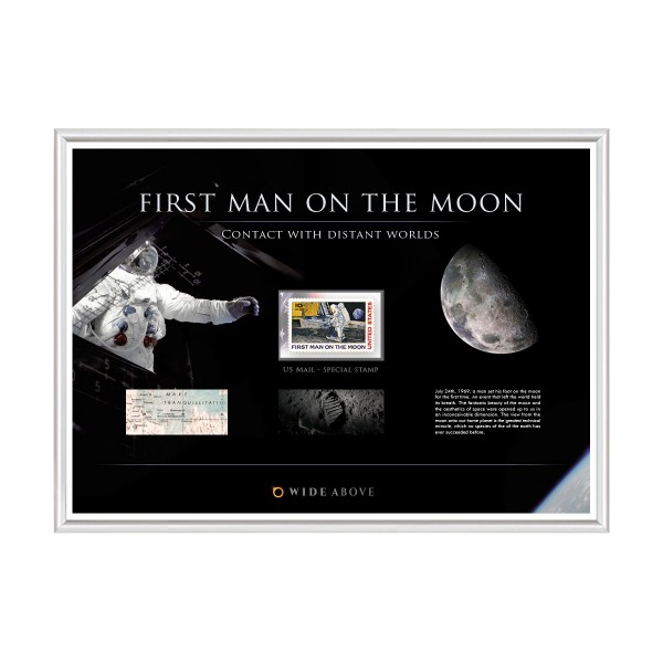 """Postage Stamp Special Edition """"First Man on the Moon"""""""