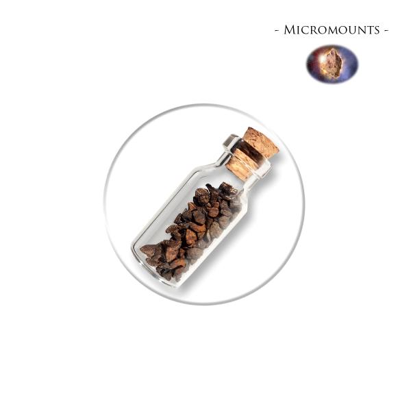 Micromounts - Meteoite Fragments