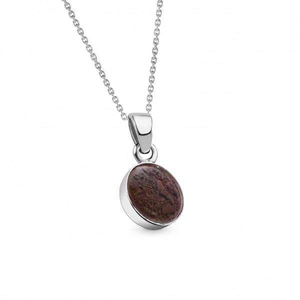 Meteorite Stern Taler Silber 9 mm